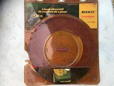 bande liseré rouge ceinture de caisse renault super 5 C40 B40 GT TURBO