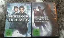 2× Sherlock Holmes DvD