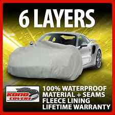 6 Layer Car Cover Indoor Outdoor Waterproof Breathable Layers Fleece Lining 6395