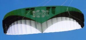 Leichtwind-Kite HQ Matrixx 15 qm incl. Bar und Rucksack, Softkite RTF