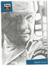 The Lost Worlds of Gerry Anderson Sketch Card drawn by Westley Smith [ C ]