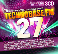 CD TechnoBase.FM Vol.27 von Various Artists 3CDs
