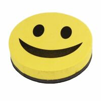 Good mood whiteboard sponge and slate, smiley, magnetic, yellow and black T8O9