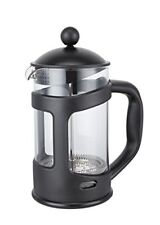 3 Cup Cafetiere Coffee Plunger Zodiac Black Coffee Maker French Press Glass
