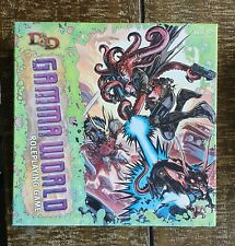 Dungeons & Dragons Gamma World - base game + 2 expansions (unpunched!)