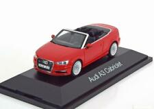 1:43 Herpa Audi A3 Convertible 2013 red