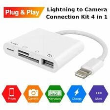 phone to camera lightning to camera card SD micro SD Card reader adapter