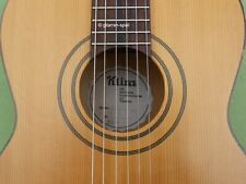 Vintage 7/8 Konzert-Gitarre Klira Modell Kessler 110 Fichte Ahorn Kult Rar Top!