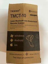 TEEMI Laser Bluetooth Barcode Scanner TMCT-10 w/USB with STAND