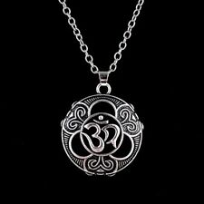 Sign Namaste Aum Ohm Om Buddha Sanskrit Yoga Pendant Necklace Pendants Jewelry