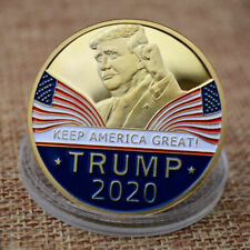 Wahl-Herausforderungs-Münze Donald Trump 2020 Gold Plated Keep America Great De