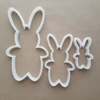 Rabbit Bunny Hare Pet Farm Shape Cookie Cutter Animal Biscuit Pastry Stencil