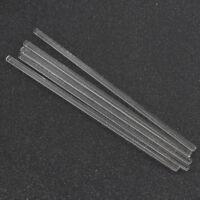 Lab Glass Stirring Rods Borosilicate High Resistant Stirrer 5 PCS School Tools