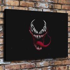 Venom Fan Art Dark HD Canvas prints Painting Home Decor Picture Wall art Poster
