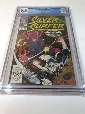SILVER SURFER (VOL 3) #18 (Marvel 1988) GALACTUS vs IN-BETWEENER CGC 9.8 White