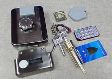 Electric door lock motor drive lock remote control card reader access control