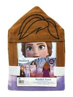 "NWT Frozen II hood towel Princess Anna Elsa NEW 22"" X 55"""