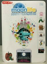 Moonlite Storybook Projector for Smartphones W/Eric Carle Gift Pack Of 5 Stories