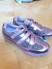 Lelli Kelly New Sparkle Sneakers Shoes Pink EU 35 US 4