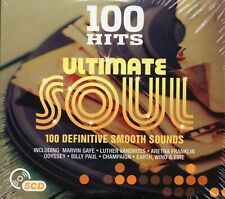 100 Hits Ultimate Soul (5 x CD) Odyssey/Three Degrees/Champaign/Earth Wind Fire
