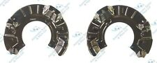 Mini Cooper R50 R52 R53 2x Front Brake Disc Dust Cover Back Plate Shields Pair
