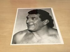 "Original 1970s Dale Martin 8"" x 10"" B&W Wrestling Photo Mike Marino"