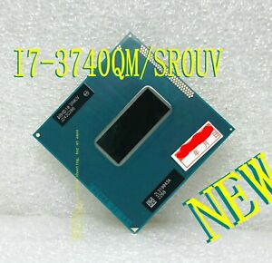 Intel Core i7- 3740QM (SR0UV) 2.7-3.7GHz 6M Quad-Core PGA 988 Notebook Processor