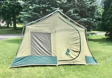 Vintage 1984 Sears Hillary Canvas Family Tent 9' X 11' EXCELLENT