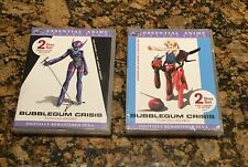 Bubblegum Crisis: Tokyo 2040 - Essential Anime Collections 1 & 2 (DVD, 2004) NEW