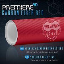 4D Premiere Gloss Carbon Fiber Overlay Sheet Vinyl Wrap Bubble Free Air Release