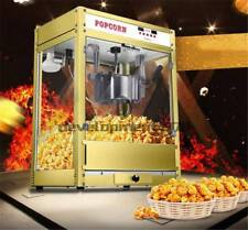 1.6kw Automatic Electric Popcorn Machine Commercial Popcorn Maker 220V