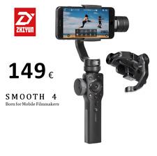 In Lager zhiyun Smooth 4 Black 3-Achsen Gimbal auf stabilisator Smartphone