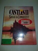 "Interplay Computer Game  Castles II - Siege & Conquest (PC 3.5"") EX"