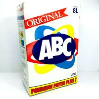 NEW Vintage ABC Laundry Detergent 2.4kg 8L Format 1980s - Factory Sealed