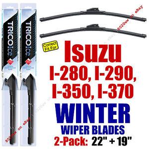 WINTER Wipers 2-Pack Premium Grade fit 2006-2008 Isuzu I-Series - 35220/190