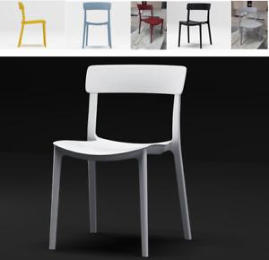 Sedia In Polipropilene da Interno Esterno Old Fashion Design Sedie da Pranzo Bar