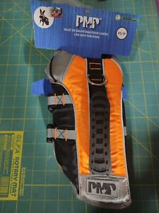 Silver Paw PMP Small Dog Safety Life Jacket XS Reflective w/Handle & Clip K9
