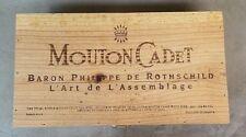 Mouton Cadet Wine Box Baron Philippe De Rothschild Box Only Produce De France