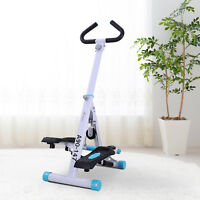 Adjustable Twist Stepper AB Body Workout Machine Aerobic Fitness Exercise w/ LCD