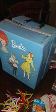 Vintage Barbie Lot, Dolls, Clothes, Case, Needs Tlc