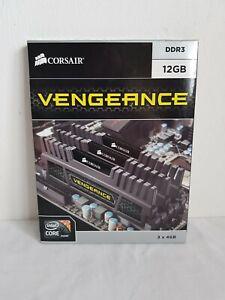 CORSAIR Vengeance DDR3 SDRAM 1600MHz 12GB (3 x 4GB) 9-9-9-24 Triple Channel Kit