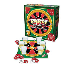 ICUP Party Roulette Adult Casino Drinking Social Shot Glass Board Game