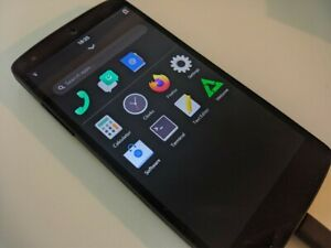 Google LG Nexus 5 D821 Black, with Linux/postmarketOS - read! (battery issues)