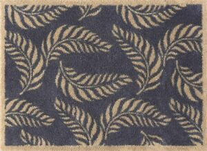 Turtle Mat -Leaf Scroll- Turtle Collection - 60 x 85cm