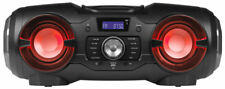 MEDION LIFE P65104 mobiles Bluetooth CD Party Soundsystem Ghettoblaster Licht