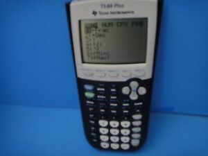 Texas Instruments TI-84 Plus Graphing Calculator 10-Digit LCD