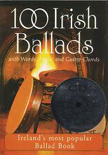 100 Irish Ballads CD Edition 1 Guitar Lyrics Music Book