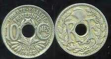 FRANCE  FRANCIA  10 centimes  1922  LINDAUER