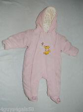 Toddler Girls Pram Bunting DISNEY WINNIE THE POOH Pastel Pink 3-6 Month
