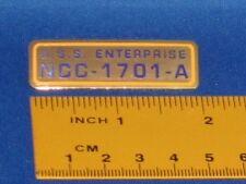 Star Trek USS Enterprise NCC 1701-A Call Letters Pin Badge STPIN1032